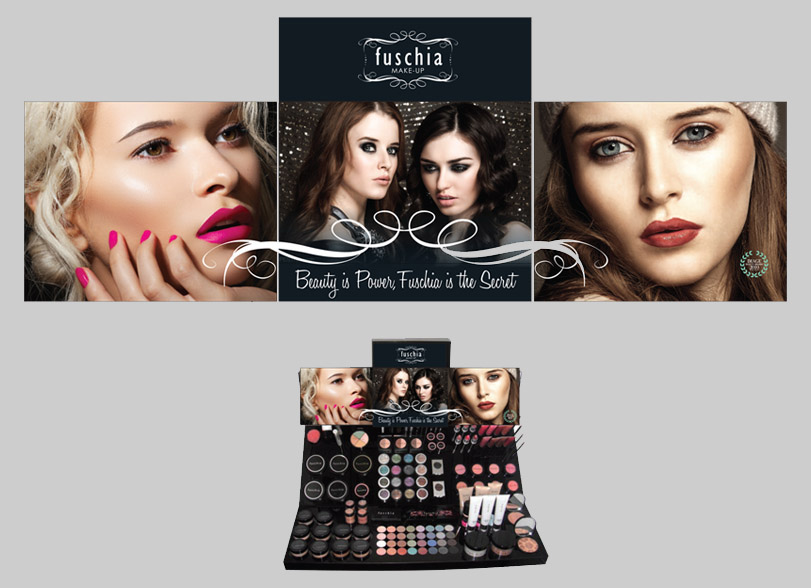 Fuschia Makeup Dtand | Once Upon Design