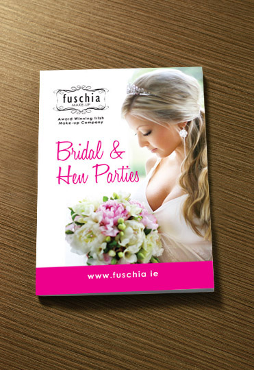 Fuschia Bridal Hen Party Brochure | Once Upon Design