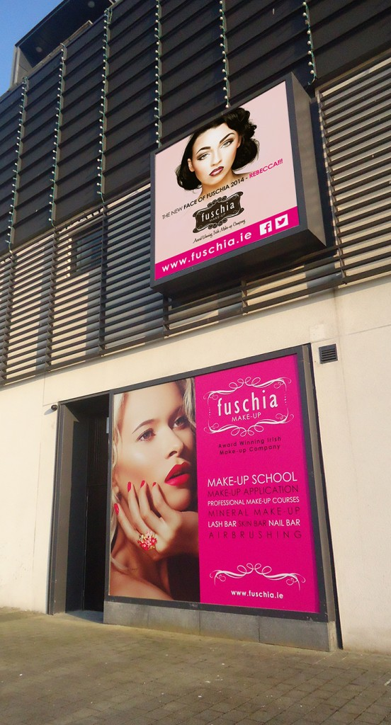 Fuschia Signage | Once Upon Design