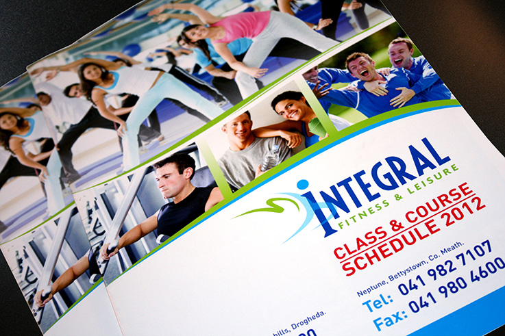 Integral Fitness & Leisure Class Course Brochure | Once Upon Design