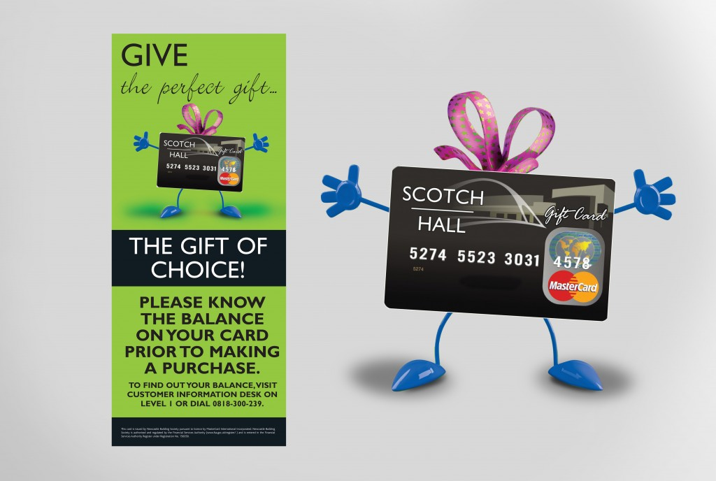 Scotch Hall Gift Cards | Once Upon Design